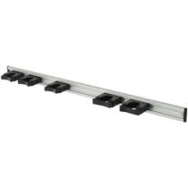 Rail 90 cm + 5 houders |stalapotheek.nl
